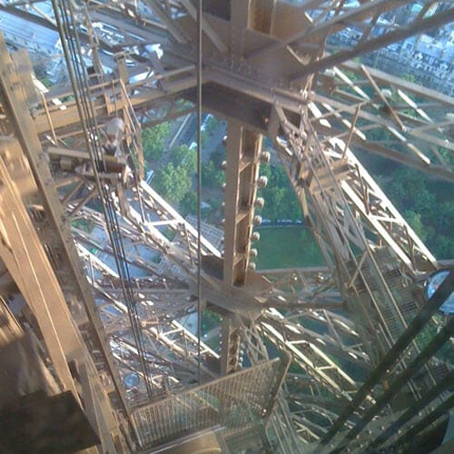 Photo of Eiffel Tower structure