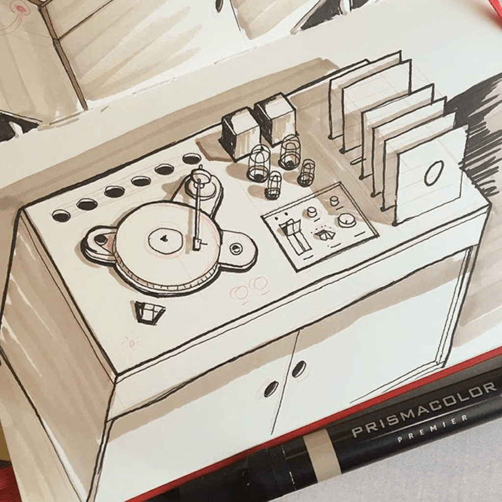 phono cabinet