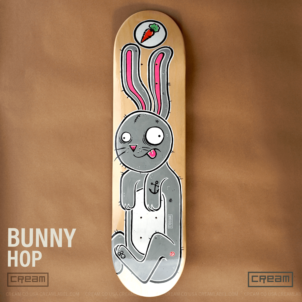 bunny hop cream co deck