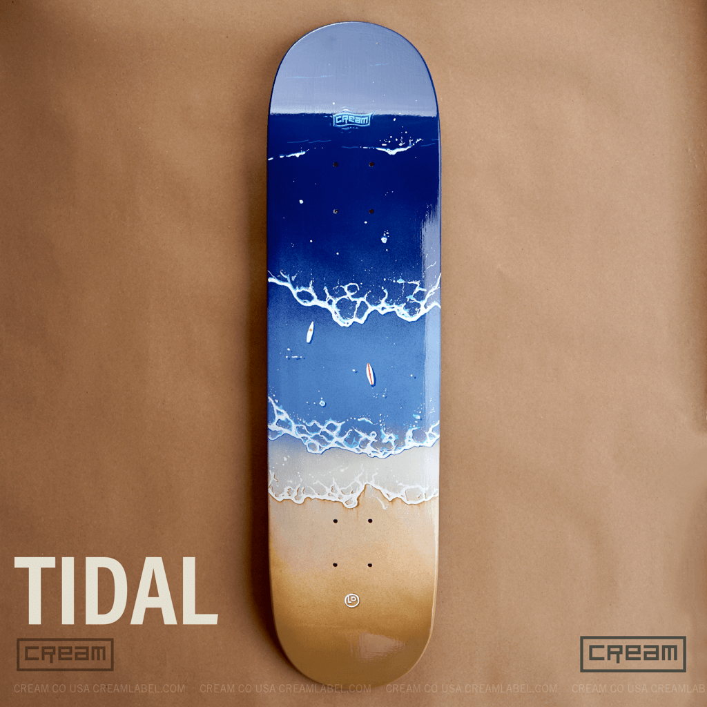 Tidal deck from Cream Co