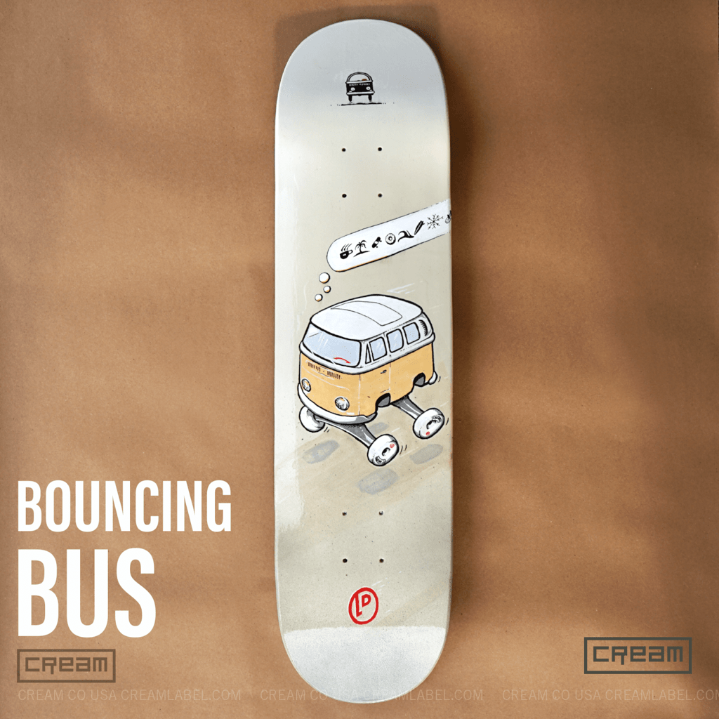 bouncing bus deck from Cream Co