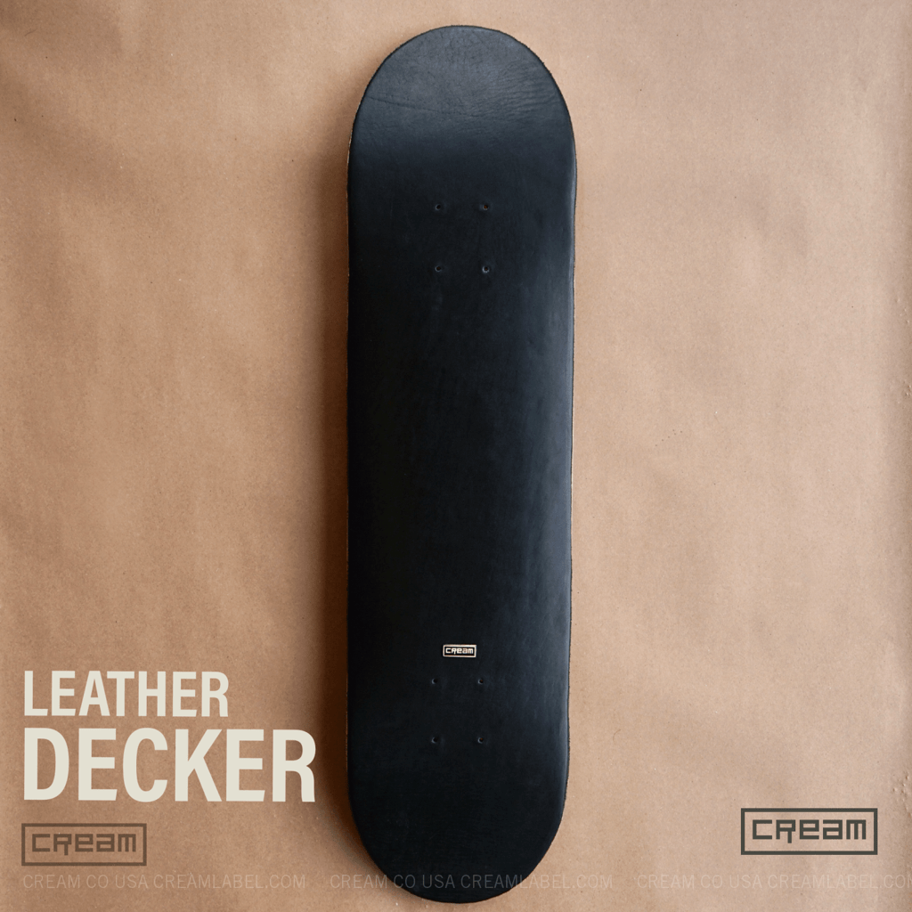 leather deck from cream co
