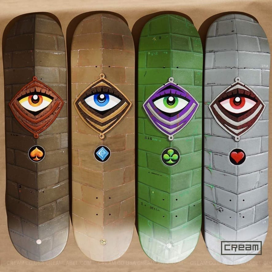 Cream Co Monster Decks
