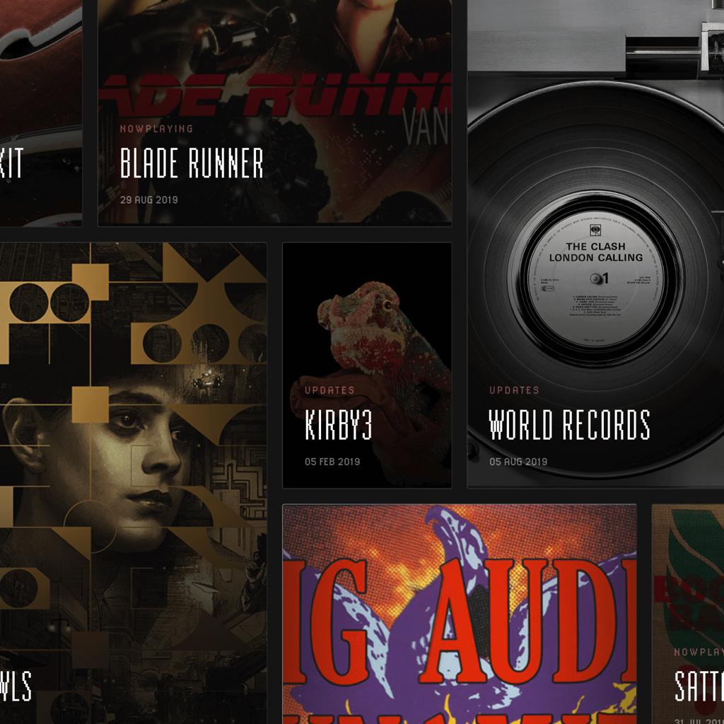 screencapture of website