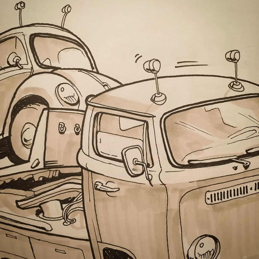 bus truck