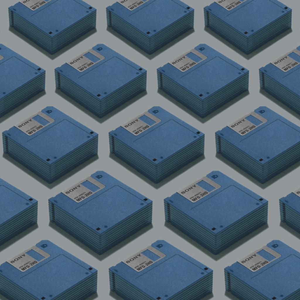 Jim Golden Studios floppy disks