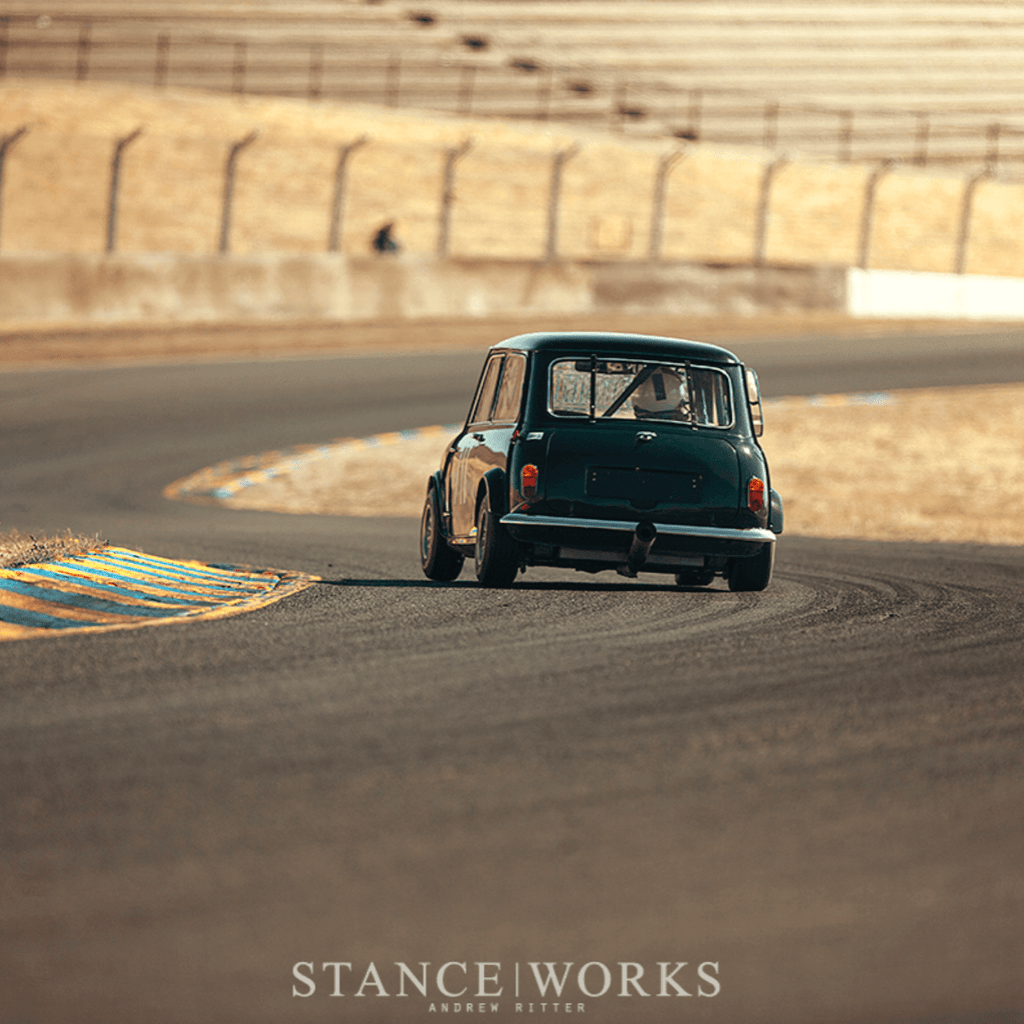 Can Am Mini on track