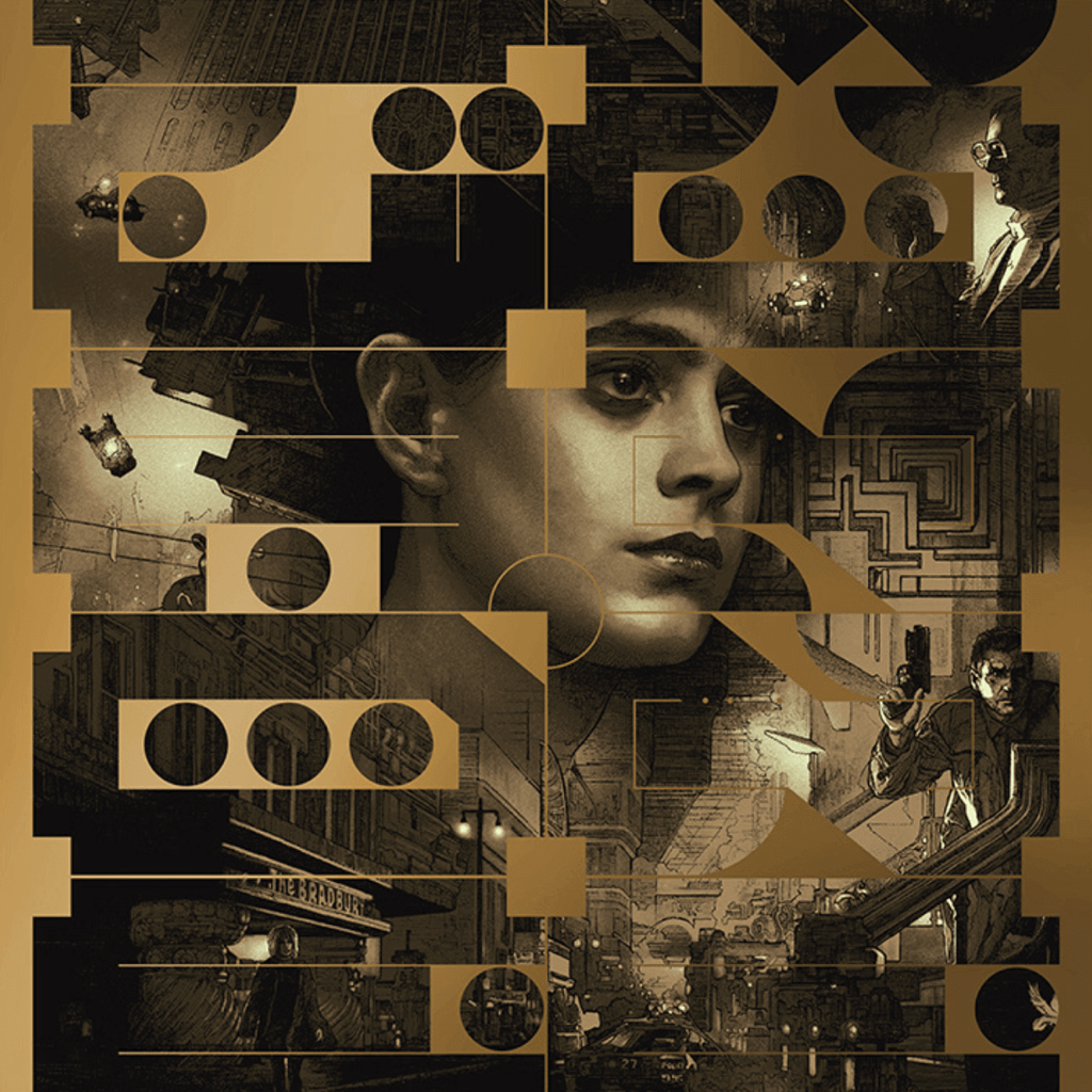 Blade Runner Alternate Movie Poster Design