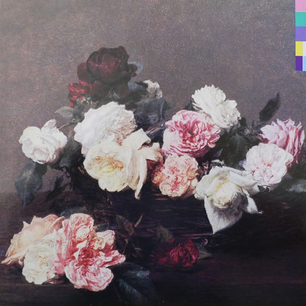 New Order's Power Corruption and Lies album cover 1982
