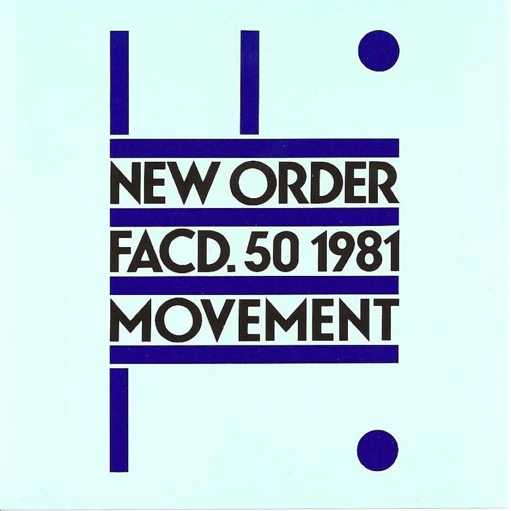 New Order's Movement album cover