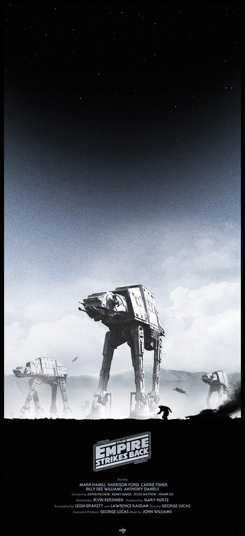 The Empire Strikes Back Alternate Movie Poster Design
