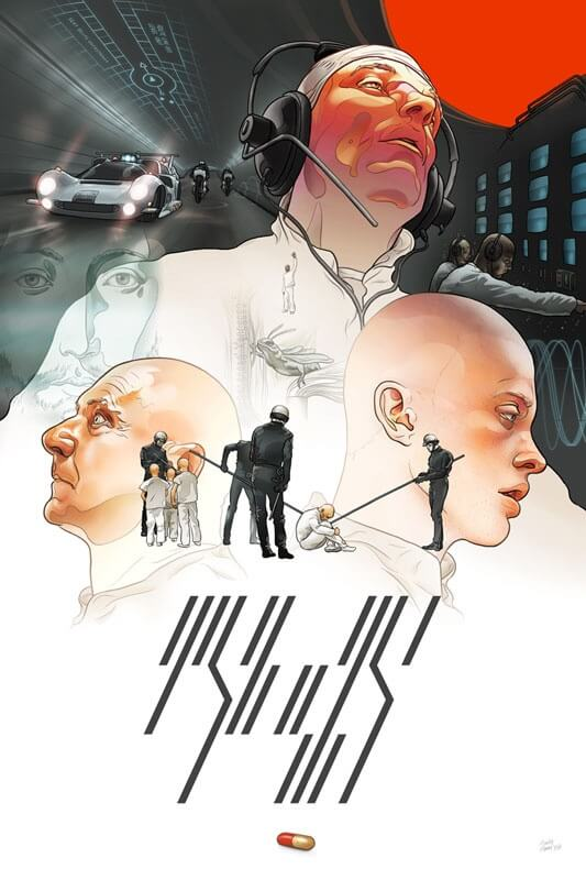 Martin Ansin's THX-1138 Alternate Movie Poster Design